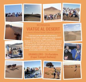 xerrada presentació desert